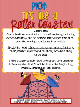 RL.2.5 Second Grade Common Core Worksheets, Activity, and Poster