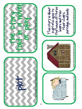 RL.2.7 Second Grade Common Core Worksheets, Activity, and Poster