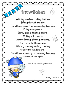 RL3.5 Winter Themed Poetry and Reader's Theater Rotations