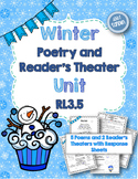 Winter Themed Poetry and Reader's Theater Rotations (RL3.5 & RL4.5)