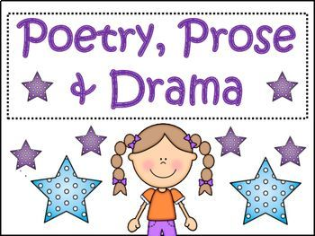 RL4.5 Explain the major differences between poetry, dramas, and prose