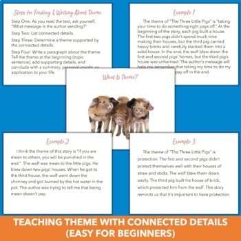Theme Power Point - RL.4.2 Constructed Response