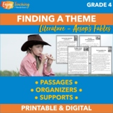 Finding a Theme Practice Pack - Fourth Grade Constructed Response