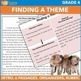 Teaching Theme   Literature Unit for Fourth Grade