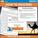 Describing Characters PowerPoint - Introduction to Constru