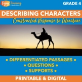 Constructed Response Passages for Describing Characters, Settings, or Events