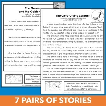 Comparing and Contrasting Folklore Unit