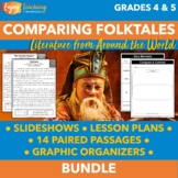 Comparing and Contrasting Folktales   Literature Unit for