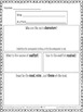RL.5.10 Fifth Grade Common Core Worksheets, Activity, and Poster