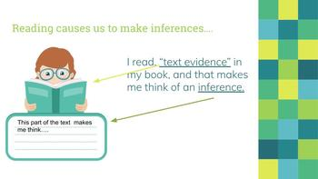 RL7.1 Text Evidence/Inference + Monsters Are Due on Maple Street