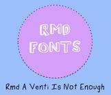 RMD Fonts: Freebie