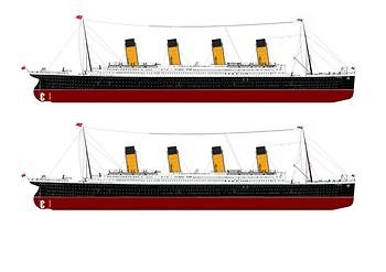 RMS Titanic Comic Strip and Storyboard