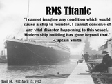 RMS Titanic Introduction PowerPoint Slideshow