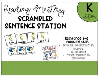 RMSE K Scrambled Sentence Station