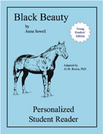 Black Beauty: Young Readers' Edition (Personalized Student Reader)