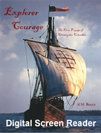 Explorer Courage: The First Voyage of Christopher Columbus (Digital Screen Reader)