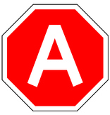 ROAD TRIP - Bulletin Board Letters / stop sign design