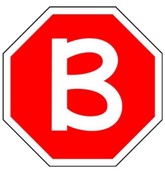 ROAD TRIP - Bulletin Board Letters / stop sign design