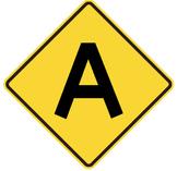 ROAD TRIP - Bulletin Board Letters / yield design