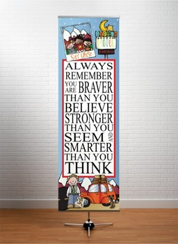 ROAD TRIP - Classroom Decor: X-LARGE BANNER, Always Remember