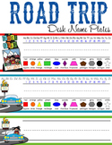 ROAD TRIP - Student desk nameplates, you personalize