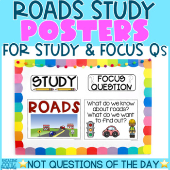 ROADS STUDY - Theme, Focus Question & Question of the Day Posters