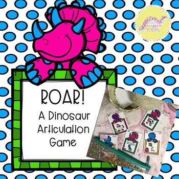 ROAR A Dinosaur Articulation Game