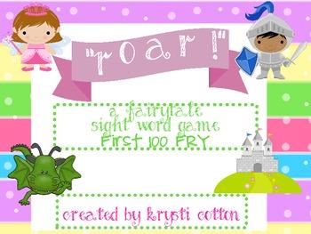 ROAR! A Fairytale Sight Word Game