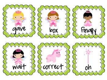 ROAR! A Fairytale Sight Word Game (Fifth 100 FRY)
