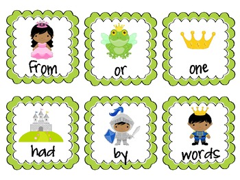 ROAR! A Fairytale Sight Word Game: First-Sixth 100 FRY words BUNDLE!