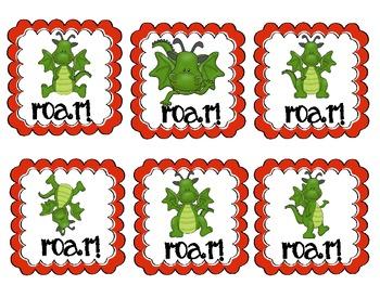 ROAR! A Fairytale Sight Word Game (Fourth 100 FRY)