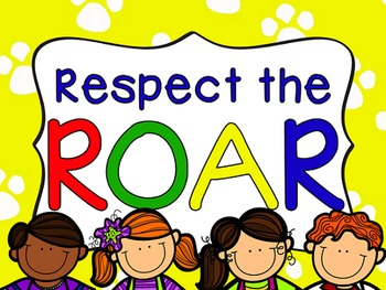 ROAR Behavior Posters and Lessons