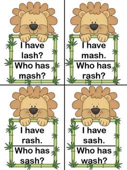 ROAR I Have Who Has SH