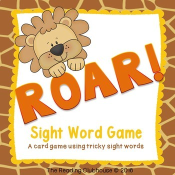 ROAR! - Sight Word Game