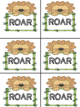 ROAR! Word Games R Controlled Vowels