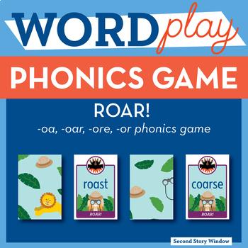ROAR oa, or, oar, ore Phonics Game