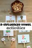 r influenced vowels -or, -ore, -oar  - ROAR!