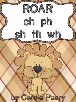 ROAR ch ph sh th wh Word Games