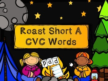 ROAST A CVC WORD - Short a - FREE!!