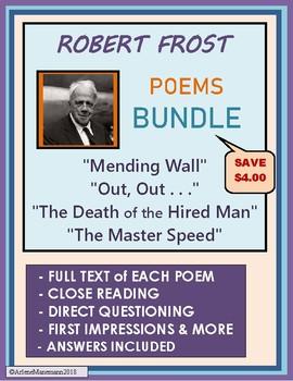 ROBERT FROST - Four Poem Study