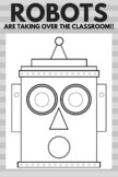 ROBOT Creative Writing Prompts and Activity Kit! Great Robot Fun!