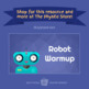 ROBOT WARMUP | Physical Education Exercise Activity