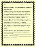 ROBOTICS CONTEST: DESIGNING A MOUNTAIN GOAT: BIOMECHANICS