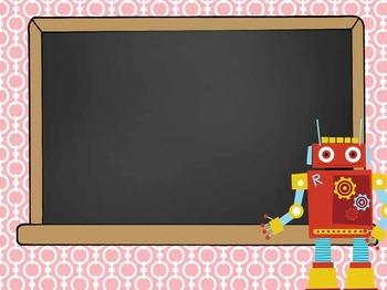 ROBOTS - PowerPoint, Open House, Curriculum Night, Meet the Teacher