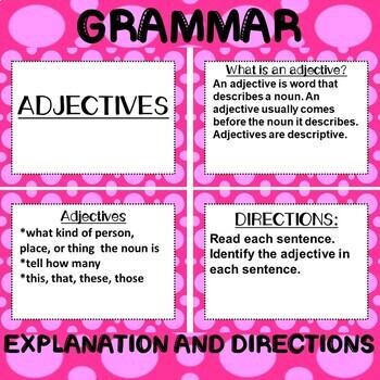 ROCK ON! Grammar Game Series: Adjectives