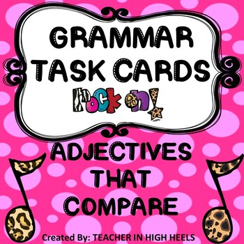 ROCK ON! Grammar Game Series: Adjectives that Compare