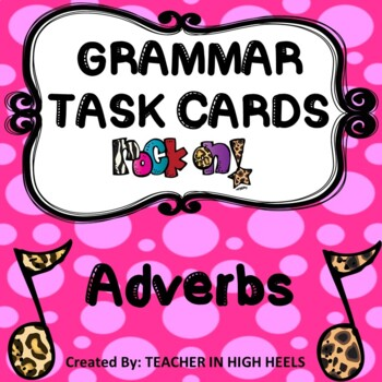 ROCK ON! Grammar Game Series: Adverbs