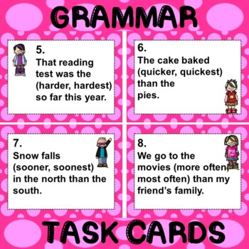 ROCK ON! Grammar Game Series: Adverbs that Compare