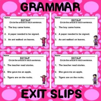 ROCK ON! Grammar Game Series: Articles