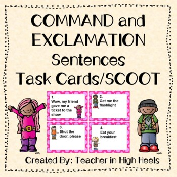 ROCK ON! Grammar Game Series: Command and Exclamation